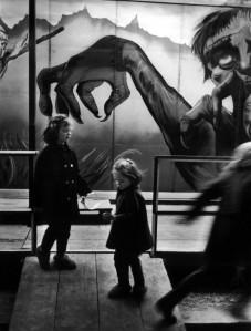 Christer Strömholm - Fair of Pigalle, Paris, 1955