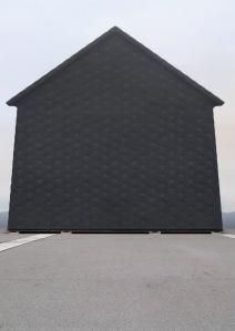 """Philipp Schaerer Bildbau No 22a, 2009, from the series """"Bildbauten"""" - fictitious architecture, © Philipp Schaerer, Zurich/CH"""