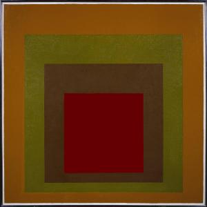 Homage to the Square, Gained 1959 Josef Albers