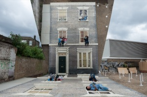 Image 1 - Leandro Erlich Dalston House. Photo by Gar Powell-Evans. Barbican Art Gallery 2013