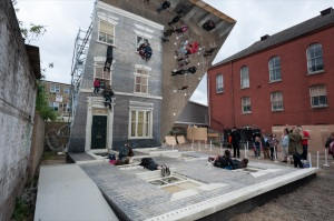 Image 13 - Leandro Erlich Dalston House. Photo by Gar Powell-Evans. Barbican Art Gallery 2013