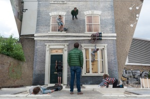 Image 2 - Leandro Erlich Dalston House. Photo by Gar Powell-Evans. Barbican Art Gallery 2013