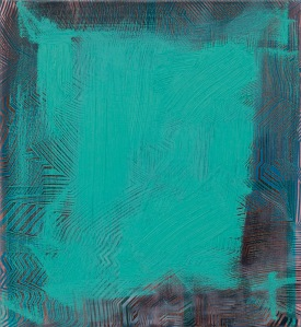 untitledteal oil and acrylic on canvas 550x500mm 2010-e