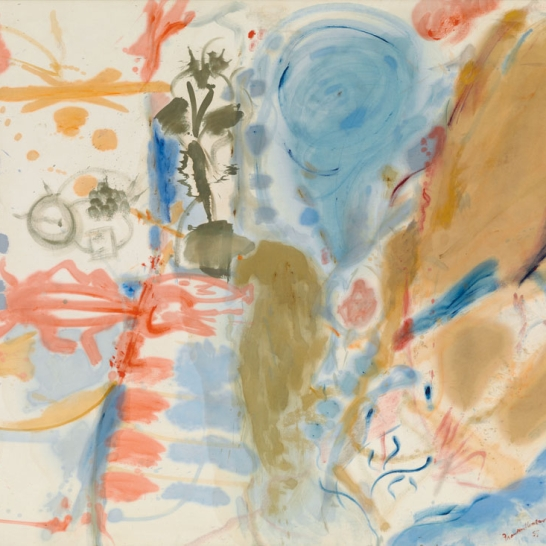 Western Dream, 1957 Oil on canvas 70 x 86 inches