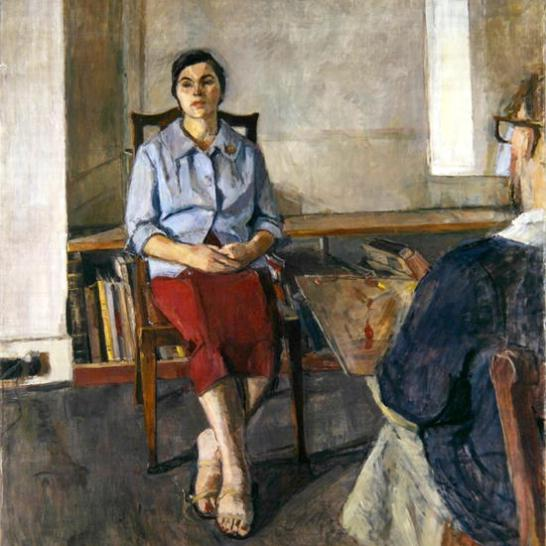 Antoinetta and Euan Uglow