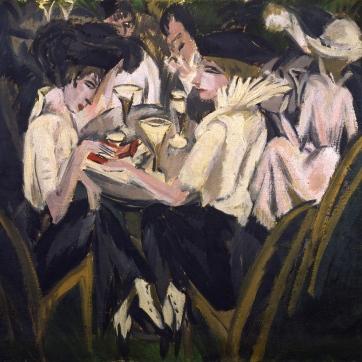 Ernst_Ludwig_Kirchner_Im_Cafégarten