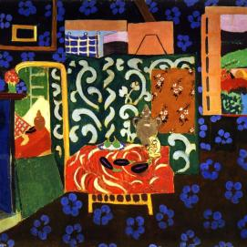 Henri-Matisse-Interior-with-Eggplant