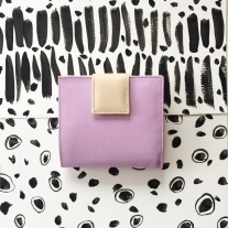violet womeanwallet back