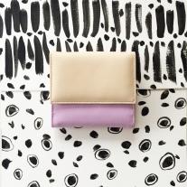 violet womeanwallet front